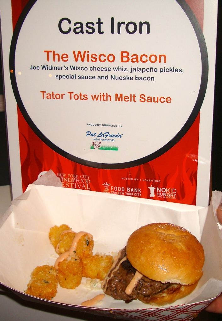 Burger Bash Cast Iron The Wisco Bacon Burger